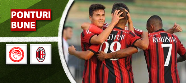 Olympiakos vs Milan–amical–analiza si pronostic–Radu