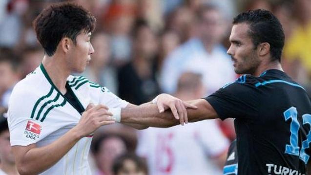 Bătaie pe teren la Leverkusen-Marseille