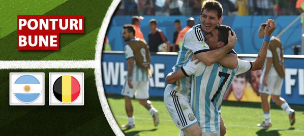 Argentina – Belgia – Cupa Mondiala – analiza si pronostic – Soryn