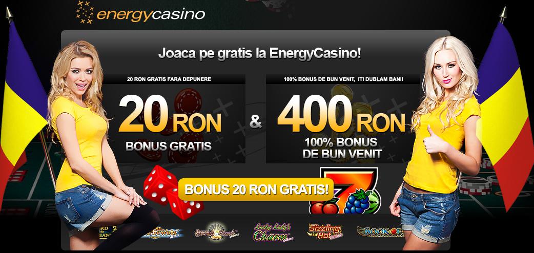 Bonus 20 RON exclusiv fără depunere pentru jucătorii români!