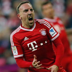 Ribery a revenit la antrenamente