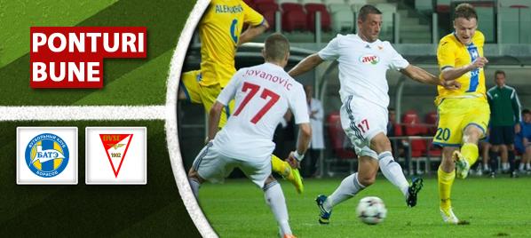 BATE Borisov vs Debrecen–Champions League–analiza si pronostic–Radu