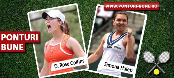 Danielle Rose Collins vs Simona Halep – US Open – Analiza si pronostic
