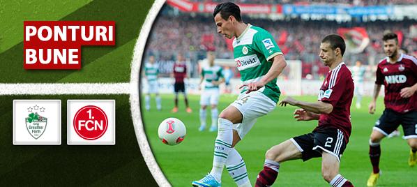 Furth vs Nurnberg – Bundesliga 2 – Analiza si pronostic – Soryn