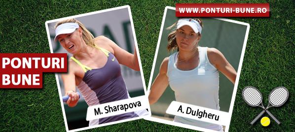 Maria Sharapova vs Alexandra Dulgheru – Tenis US Open – Analiza si pronostic