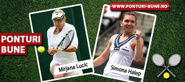 Mirjana Lucic vs Simona Halep – Tenis US Open – Analiza si pronostic