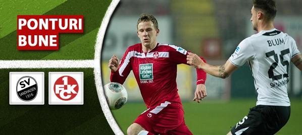 Sandhausen vs Kaiserslautern – Bundesliga 2 – analiza si pronostic – Soryn