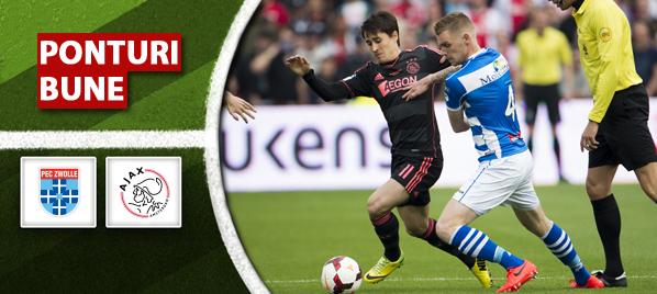 Zwolle vs Ajax Amsterdam–Olanda–analiza si pronostic–Radu