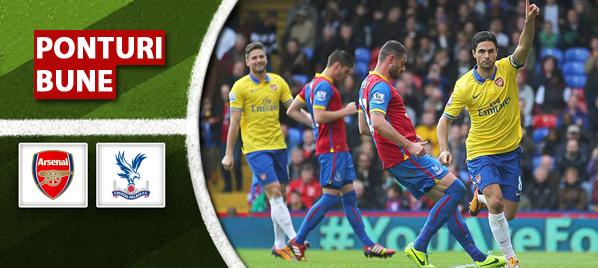 Arsenal vs Crystal Palace–Premier League–analiza si pronostic–Radu