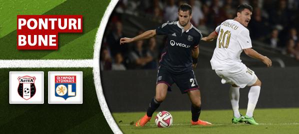 Astra Giurgiu vs Olympique Lyon – Europa League – analiza si pronostic – Soryn