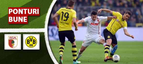 Augsburg vs Dortmund–Bundesliga–analiza si pronostic–Radu