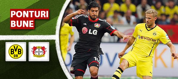 Dortmund vs Leverkusen–Bundesliga–analiza si pronostic–Radu