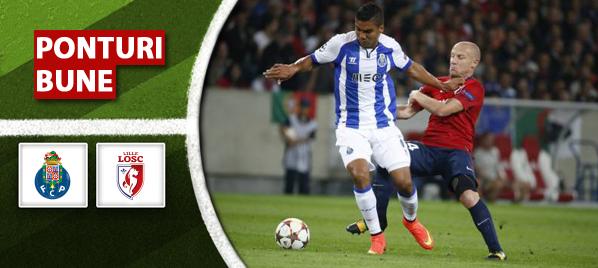 Porto vs Lille–Champions League–analiza si pronostic