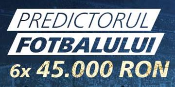 Predictorul fotbalului la Sportingbet – castiga 45.000 RON sau o vacanta la finala Ligii Campionilor