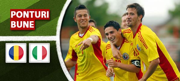 U21 Romania vs U21 Italia – amical – analiza si pronostic – Soryn