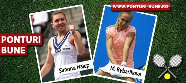 Simona Halep vs Magdalena Rybarikova – New Haven – Analiza si pronostic