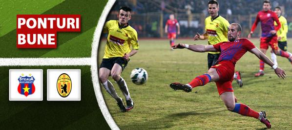 Steaua vs Ceahlaul Piatra Neamt – Liga 1 – analiza si pronostic – Soryn