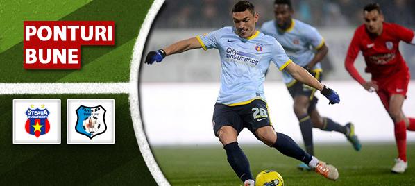 Steaua vs Pandurii – Liga 1 – analiza si pronostic – Soryn