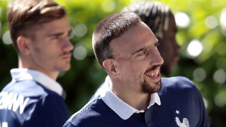"""Griezmann: """"NU eu sunt cauza retragerii lui Ribery"""""""