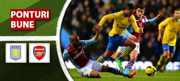 Aston Villa vs Arsenal–Premier League–analiza si pronostic