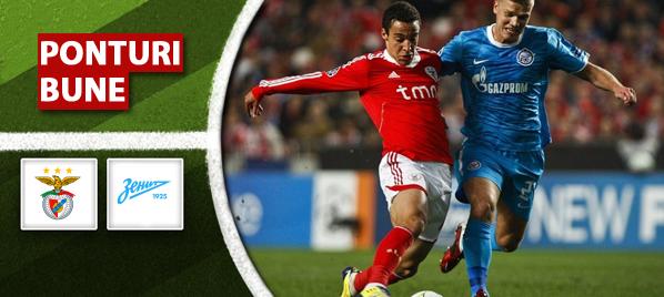 Benfica vs Zenit–Champions League–analiza si pronostic–Radu
