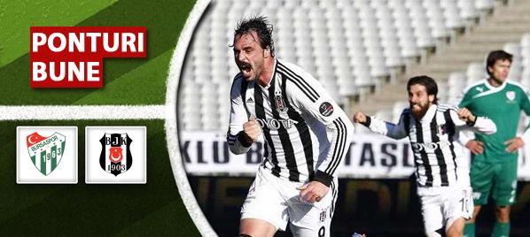 Bursaspor vs Besiktas–Super Liga–analiza si pronostic