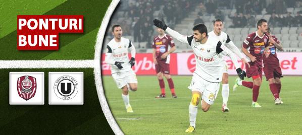 "CFR – "" U "" Cluj 1-0"
