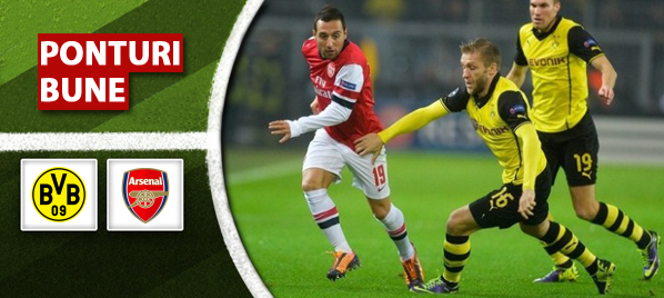 Dortmund vs Arsenal–Champions League–analiza si pronostic–Radu