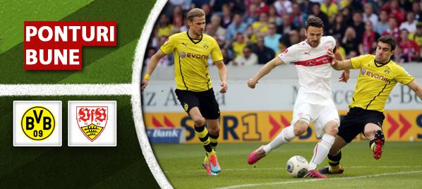 Dortmund vs Stuttgart–Bundesliga–analiza si pronostic