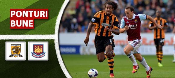 Hull vs West Ham–Premier League–analiza si pronostic–Radu