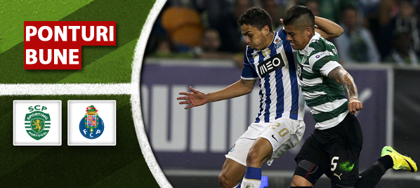 Sporting Lisabona vs Porto–Liga Sagres–analiza si pronostic