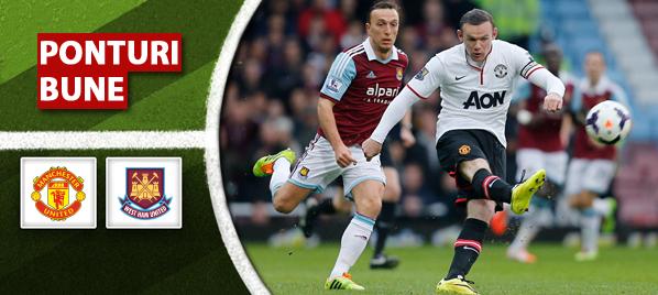 Manchester United vs West Ham–Premier League–analiza si pronostic