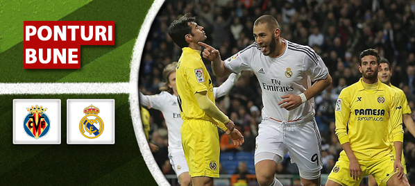 Villarreal vs Real Madrid–Primera Division–analiza si pronostic