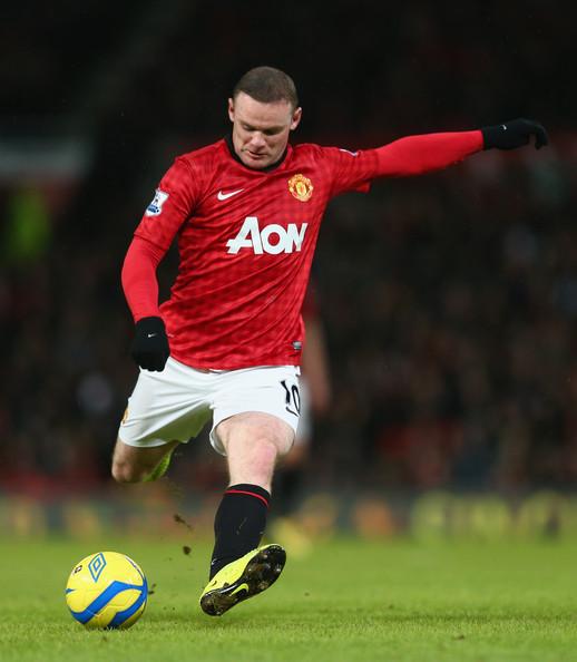 Rooney la golul 175 in Premier League
