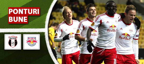 Astra Giurgiu vs FC Red Bull Salzburg – Europa League – analiza si pronostic