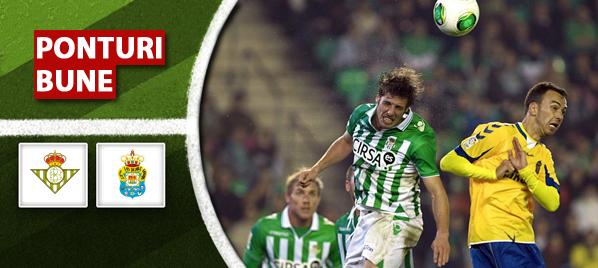 Betis vs Las Palmas–Liga Adelante–analiza si pronostic