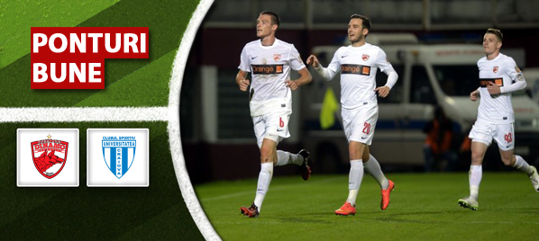 Dinamo vs CS Universitatea Craiova – Liga 1 – analiza si pronostic