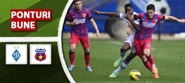 Dinamo Kiev vs Steaua Bucuresti – Europa League – analiza si pronostic