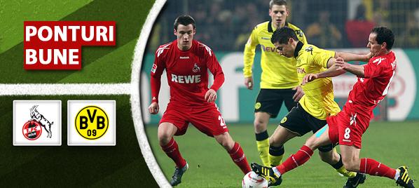 Koln vs Dortmund–Bundesliga–analiza si pronostic