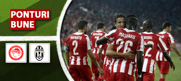 Olympiakos vs Juventus–Champions League–analiza si pronostic