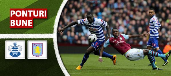 QPR vs Aston Villa – Premier League – Analiza si pronostic