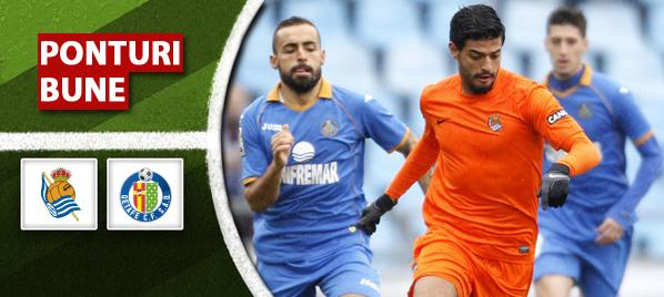 Sociedad vs Getafe–Primera Division–analiza si pronostic