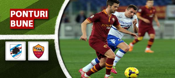 Sampdoria vs AS Roma – Serie A – Analiza si pronostic