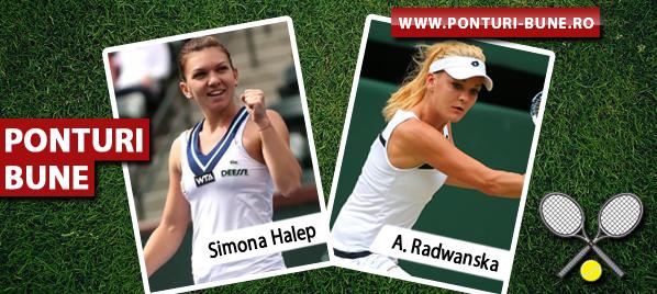 Simona Halep vs Agnieszka Radwanska – Turneul Campioanelor – Analiza si pronostic