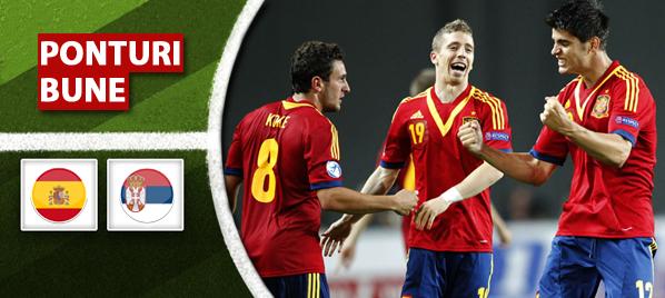 Spania vs Serbia–Play-off CE U-21–analiza si pronostic