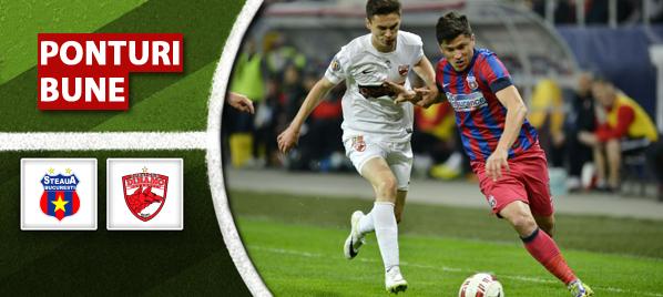 Steaua vs Dinamo – Liga 1 – analiza si pronostic