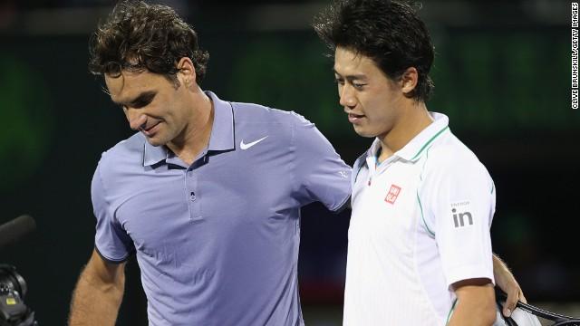 Roger Federer vs Kei Nishikori - Turneul Campionilor - Analiza si pronostic