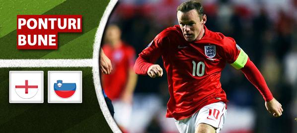 Anglia vs Slovenia – Calificari Euro 2016 – Analiza si pronostic