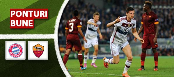 Bayern Munchen vs AS Roma - Champions League - Analiza si pronostic