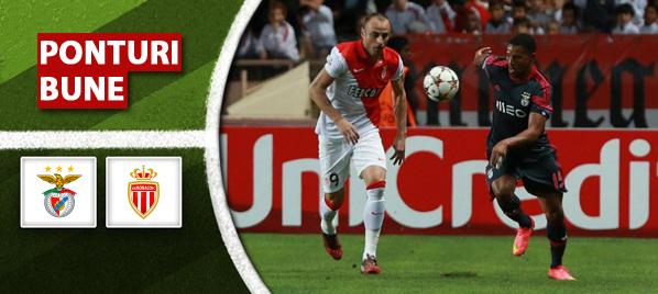 Benfica vs Monaco–Champions League–analiza si pronostic